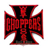 WEST COAST CHOPPERS RED.  felvarró
