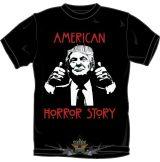 TRUMP - AMERICAN HORROR STORY. vicces, poen póló