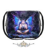 Tündér pentagrammal - Spell Weaver Messenger Bag. 40cm.   . válltáska