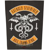 AVENGED SEVENFOLD - HAIL TO THE KING. BPIM..  hátfelvarró