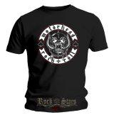 Motorhead - Biker badge . zenekaros  póló.