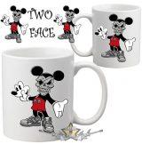 Mickey - Two face.  poénos bögre