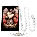 Death Angel -  Dia de los muertos.  pénztárca lánccal