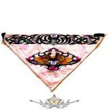 Háromszög formájú  kendő.- Eagle 2.    vászon kendő