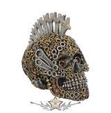 Mechanically Minded. 17cm.  U4067M8.  koponya figura