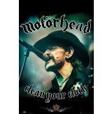 Motorhead - Lemmy, Clean your Clock.   plakát, poszter