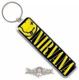 Nirvana -  Smiley .  fém kulcstartó