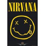 Nirvana - Smiley.   plakát, poszter