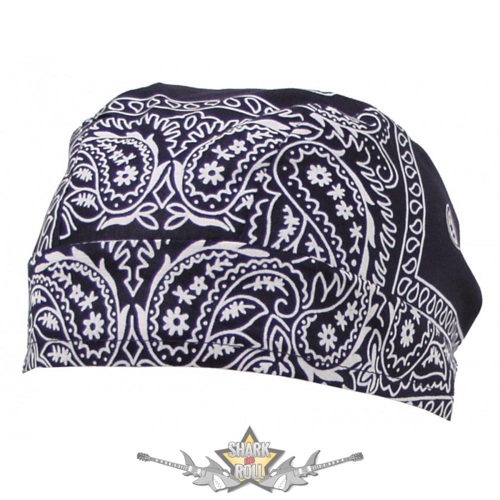 59d42189b9 Headwrap - Fejkendő. Navy - blue. vászon kendő - Shark n Roll - Rock ...