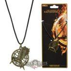 Az éhezõk viadala -  The Hunger Games.  Fecsegő poszata.   nyaklánc, medál, dog tag