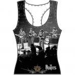 The Beatles - Ladies Tee Vest - Live.  .   zenekaros  póló.