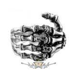 Bones Rings for  Women  Steinless Steel. gyűrű