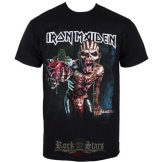 Iron Maiden - Tee Book of Souls European Tour 2016.    póló