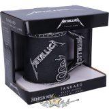 Metallica - The Black Album Tankard. korsó, kehely