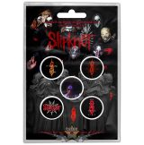 Slipknot - Button Badge Pack.   We Are Not Your Kind.   jelvényszett
