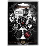 Black Veil Brides - Plectrum Pack - Skull.  gitárpengető szett