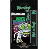 Rick and Morty -  Schwifty. lanyard.   stage pass - kulcstartó