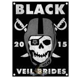 BLACK VEIL BRIDES - MARAUDERS . TEXTILE POSTER. zenekaros zászló