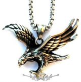 EAGLE FREEDOM. Stainless Steel. JVP.    nyaklánc, medál