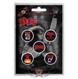Dio -  Button Badge Pack.  We Rock.   jelvényszett