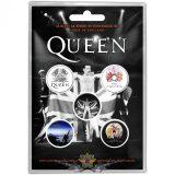 Queen - Button Badge Pack.  Freddie.   jelvényszett