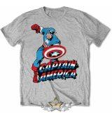 Captain America.  Marvel Comics  - Simple   filmes, movie  póló
