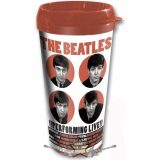 The Beatles - Travel Mug. 1962 Performing Live with Plastic Body. utazó pohár.