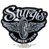 BIKE WEEK 2014 - Sturgis Motorcycle Patch. USA.  felvarró