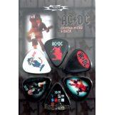 AC/DC - SERIA 6. gitárpengető szett