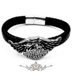 Motoros * Harley Davidson - Eagle logo.  karkötő, csuklópánt