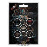 Meshuggah -  Button Badge Pack.  Violent Sleep of Reason.   jelvényszett