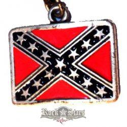 REBEL FLAG.   nyaklánc, medál