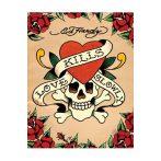 ED HARDY - LOVE KILLS SLOWLY  plakát, poszter