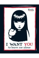 EMILY THE STRANGE - I WANT YOU  plakát, poszter