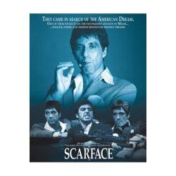 SCARFACE - BLUE  plakát, poszter