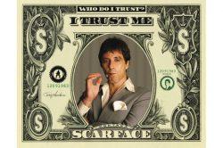 SCARFACE - DOLLAR  plakát, poszter