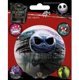 NIGHTMARE BEFORE CHRISTMAS. Vinyl stickers. matrica szett