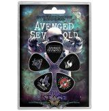 Avenged Sevenfold - Plectrum Pack - The Stage.   gitárpengető szett