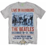 The Beatles - Unisex Premium Tee.  1962 Live in Hamburg  zenekaros  póló.
