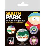 South Park. Official badge set.  jelvényszett