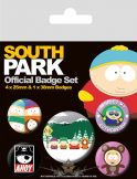 South Park. Official badge set.  jelvényszett