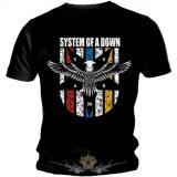 SYSTEM OF A DOWN - EAGLE. zenekaros póló