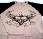 EAGLE HEART  motoros póló