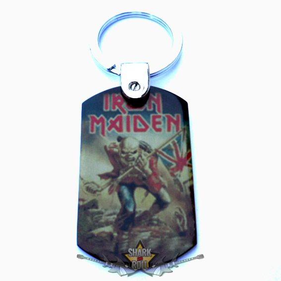 IRON MAIDEN - TROOPER. fém kulcstartó - Shark n Roll - Rock- Metal ... b08745ec87