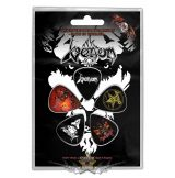Venom - Black Metal. Plectrum Pack.  gitárpengető szett