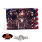 Great American Hawg.  motoros zászló