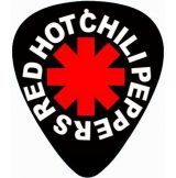 RED HOT CHILI PEPPERS.  pengető nyaklánc