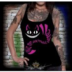 BLACK CAT - WE'RE ALL MAD HERE...2.  női póló, trikó