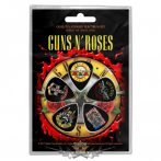 Guns N Roses - 'Bullet Logo' Plectrum Pack.  gitárpengető szett