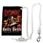 AC/DC - HELLS BELLS.  pénztárca lánccal